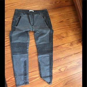 Marrakech Rock &rill moto pants washed black